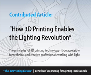 Benefits of 3D Printing for Lighting Professionals