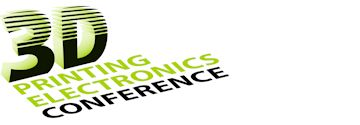 Logo of the 3D printed electronics conference by Jakajima