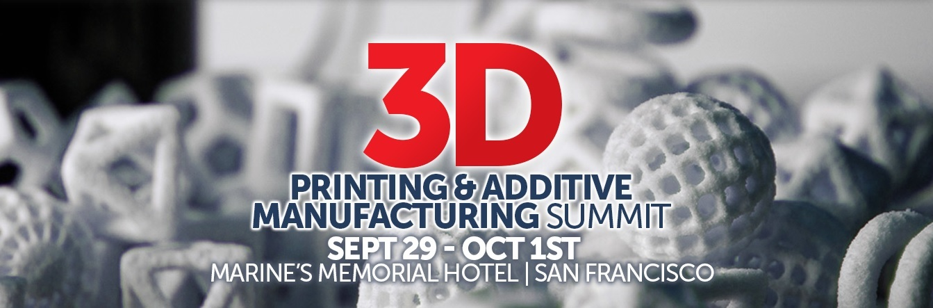 3DPrinting.Lighting_3D Printing & Additive Manufacturing Summit San Francisco