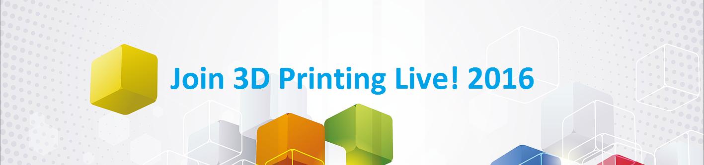 3DPrinting.Lighting_3D Printing Live 2016_Banner
