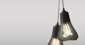 Image of two black Kayan Fixtures by Plumen Studio