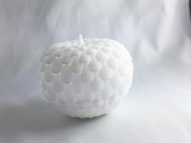 Apple printed with AE12 Binder Jetting material