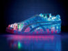 Picture with side view of Janne Kyttanen's Electric Light Shoe