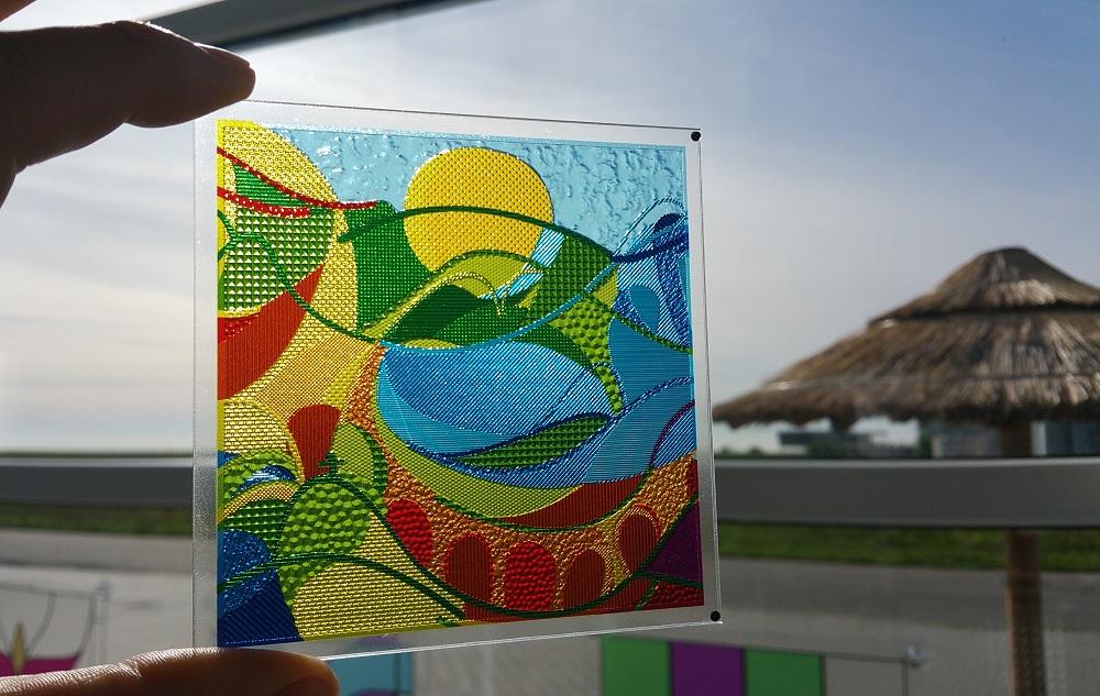 Image of Luximprint Optographix - hand held carnival artwork