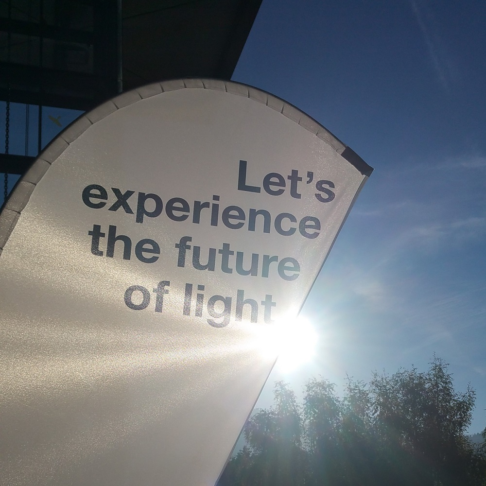 Image with banner 'Future of Light'