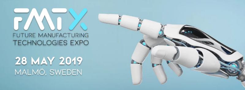 Banner image of FMTX 2019 and 3D printing live in Malmo, Sweden