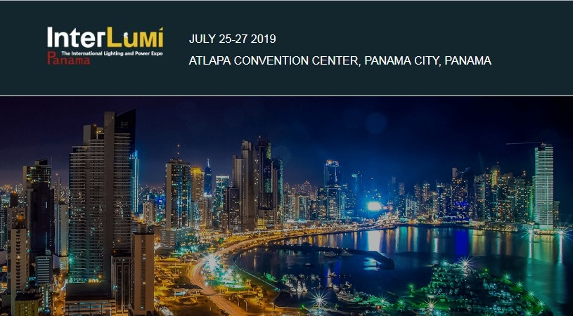 Logo banner for Interlumi 2019 Panama Expo F 2019