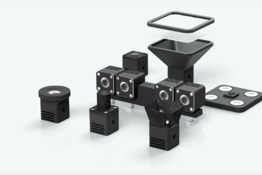 Image of Relio² set-up for 3DPrinting.Lighting