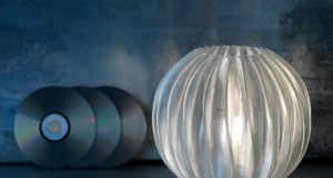Image of a 3D printed decorative luminaire by Signify used as header for blogpost at 3DPrinting.Lighting