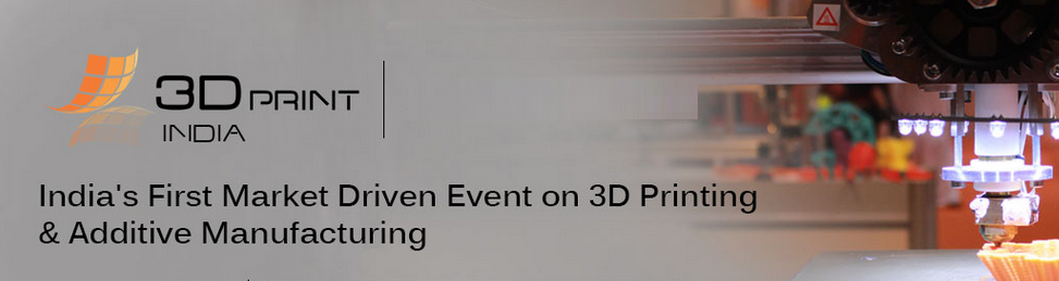 3D Print India Banner 2017 Event