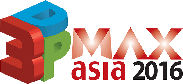 Logo of 3DP Max Asia 2016 Event