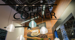 Image of 3D printed lights collection by Philips Lighting at Euroshop Düsseldorf